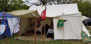 Smythkepe's home during Vikingfest